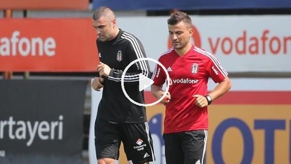 Beşiktaş'ta Burak Yılmaz çalışmalara başladı