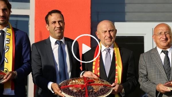 'Nihat Özdemir'den Yeni Malatyaspor'da ziyaret