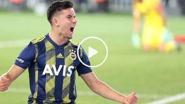 'Fenerbahçe'de üst direğe vurma yarışmasını Ferdi Kadıoğlu kazandı
