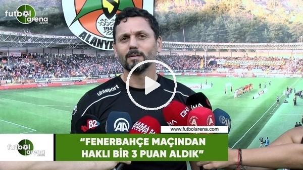"""Erol Bulut: """"Fenerbahçe maçından haklı bir 3 puan aldık"""""""