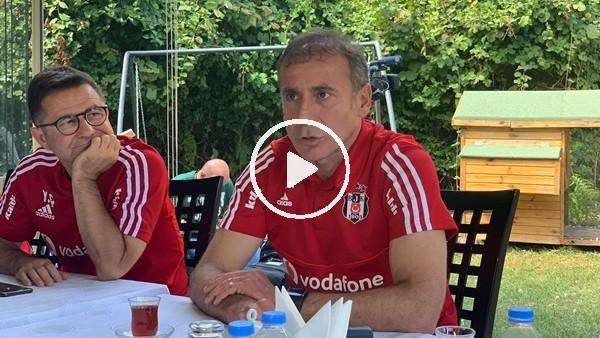 """Abdullah Avcı: """"Beşiktaş'ı nasıl daha iyi yerlere taşıyabiliriz bütün çalışmalarımız onun üstüne"""""""