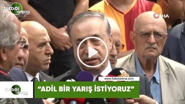 """Mustafa Cengiz: """"Adil bir yarış istiyoruz"""""""