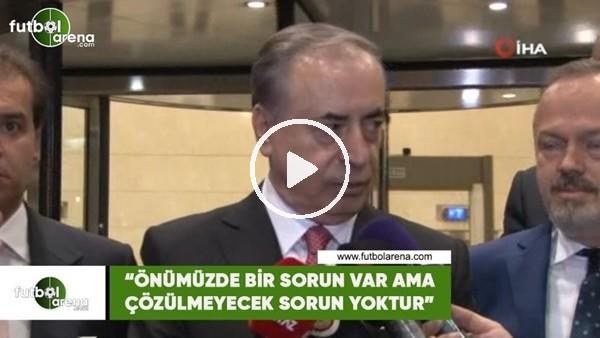 """'Mustafa Cengiz: """"Önümüzde bir sorun var ama çözülmeyecek sorun yoktur"""""""