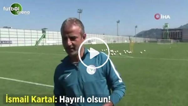 """'Gazeteciden İsmail Kartal'a: """"Hocam sanki Gazişehir maçında 3 puan alacakmış gibi yürüyüş yaptınız"""""""