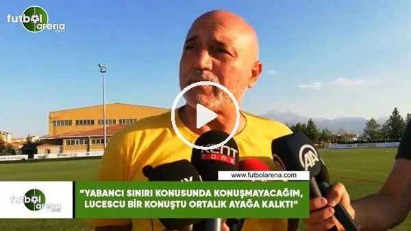 """'Hikmet Karaman: """"Yabancı sınırı konusunda konuşmayacağım, Lucescu bir konuştu ortalık ayağa kalktı"""""""