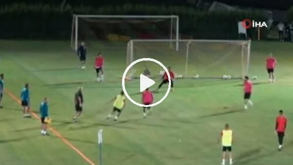 'Yasir Subaşı'ndan antrenmanda muhteşem gol