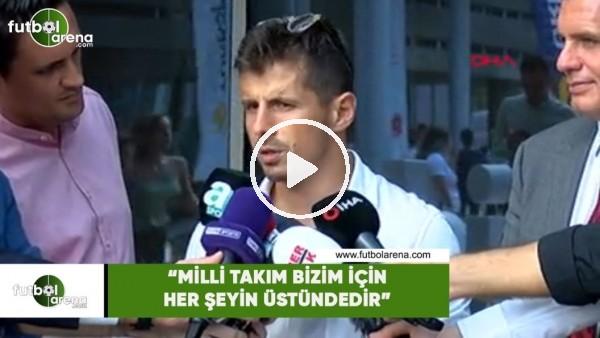 """Emre Belözoğlu: """"Milli Takım bizim için her şeyin üstündedir"""""""