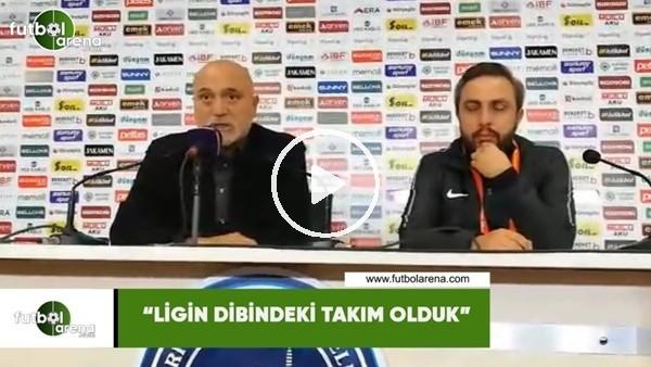 """'Hikmet Karaman: """"Ligin dibindeki takım olduk"""""""