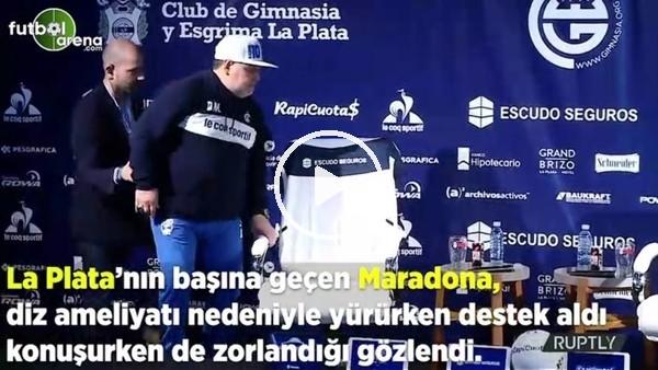 Maradona'nın zor anları