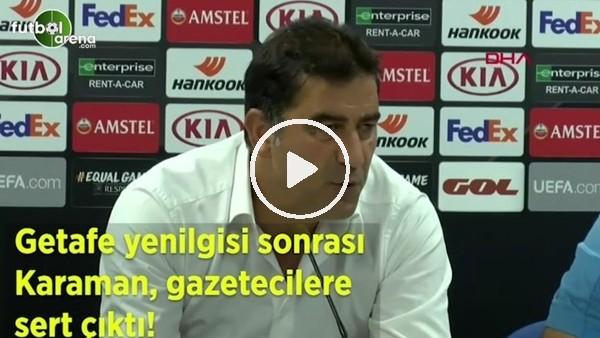 'Ünal Karaman, gazetecilere sert çıktı!