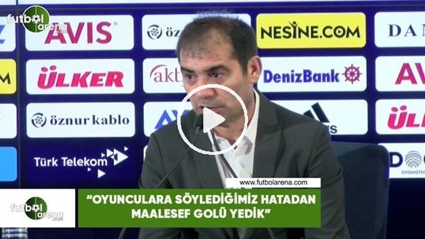 """'Metin Diyadin: """"Oyunculara söylediğimiz hatadan maalesef golü yedik"""""""