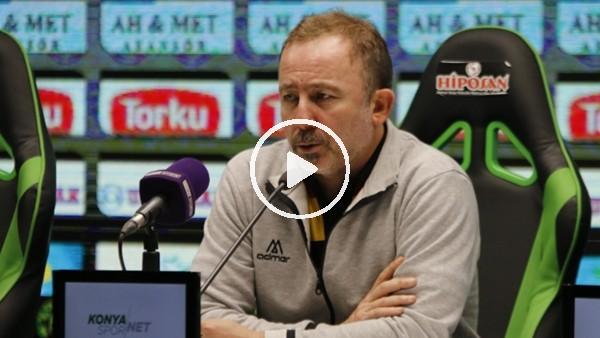 """'Sergen Yalçın: """"Bu ligde maç kazanmak çok zor"""""""
