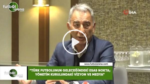 """Adnan Polat: """"Türk futbolunun geleceğinde esas nokta; yönetim kurullarındaki vizyon ve medya"""""""