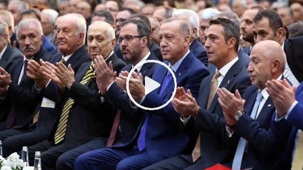 Fenerbahçe'nin Cmuhurbaşkanı Erdoğan için hazırladığı klip