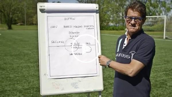 Fabio Capello'nun en iyi 11'i