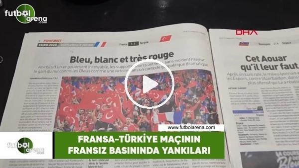'Fransa-Türkiye maçının Fransız basınında yankıları