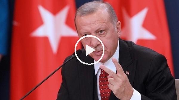"""'Cumhurbaşkanı Erdoğan: """"Olsa olsa kınama yapabilirler"""""""