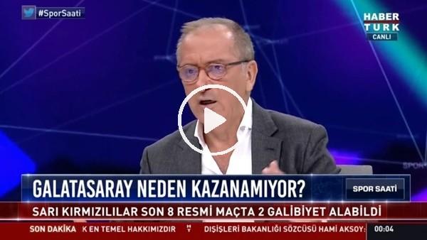 """Fatih Altaylı: """"Fatih Terim'in aklı sahada değil"""""""