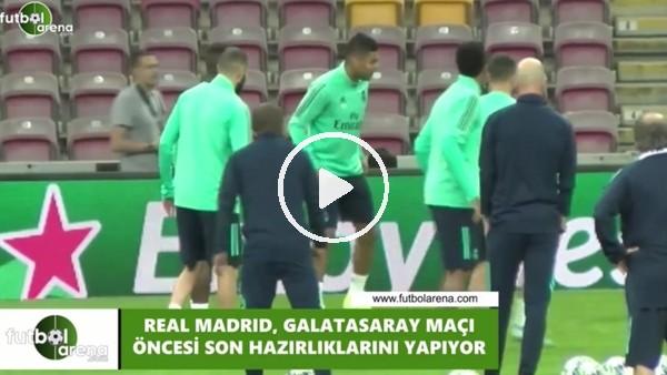 Real Madrid, Galatasaray maçına hazır