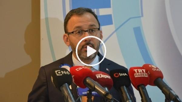 'Bakan Kasapoğlu'ndan milli takım açıklaması
