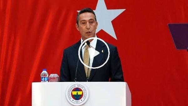 """Ali Koç: """"En büyük rekabetin vatana en çok katkıyı sunmak olması dileğimle"""""""