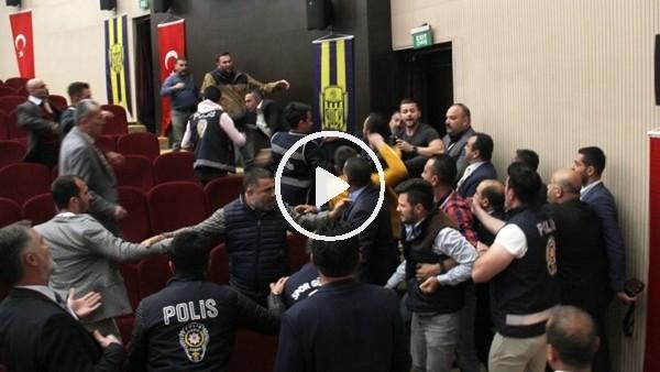 'Ankaragücü Genel Kurulu'nda yumruklu kavga
