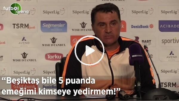 """'Mustafa Kaplan: """"Beşiktaş bile 5 puanda emeğimi kimseye yedirmem"""""""