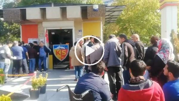 Kayserispor'dan Fenerbahçe maçına yoğun ilgi