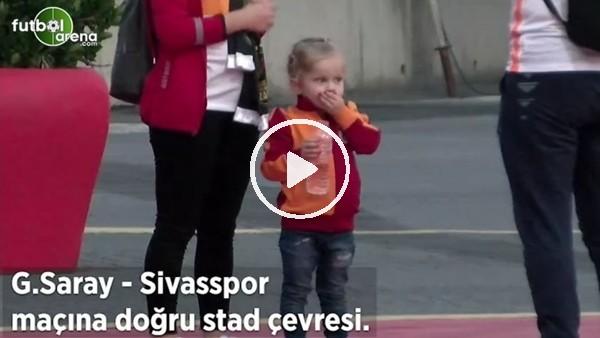 'Galatasaray - Sivasspor maçına doğru stad çevresi