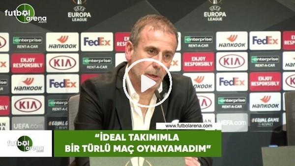 """Abdullah Avcı: """"İdeal takımımla bir türlü maç oynayamadım"""""""