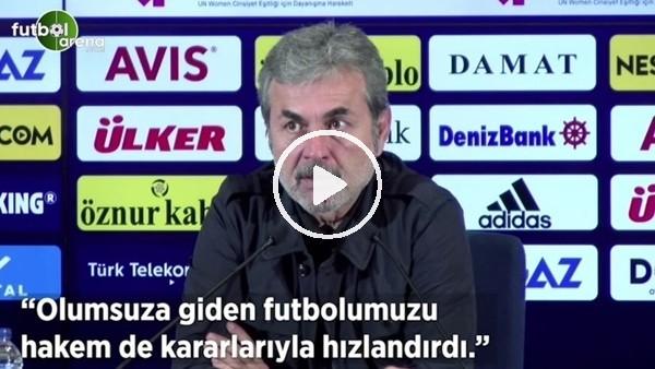 """'Aykut Kocaman: """"Olumsuza giden futboluzu hakem de kararlarıyla hızlandırdı"""""""