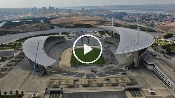 Atatürk Olimpiyat Stadı, Devler Ligi Finali için hazırlanıyor