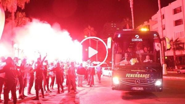 Fenerbahçe kafilesi Mersin'de