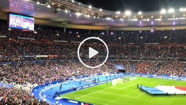 Fransa - Türkiye maçında atmosfer