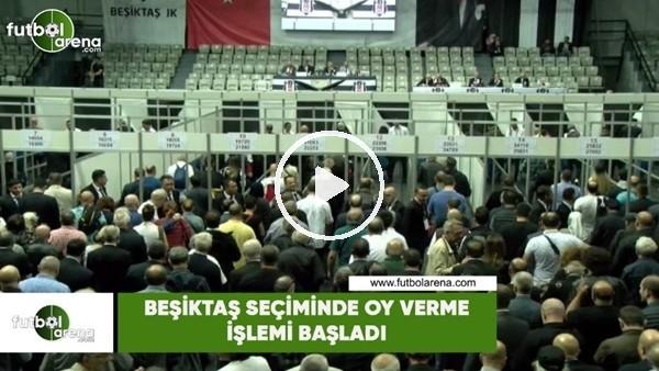 'Beşiktaş seçiminde oy verme işlemi başladı