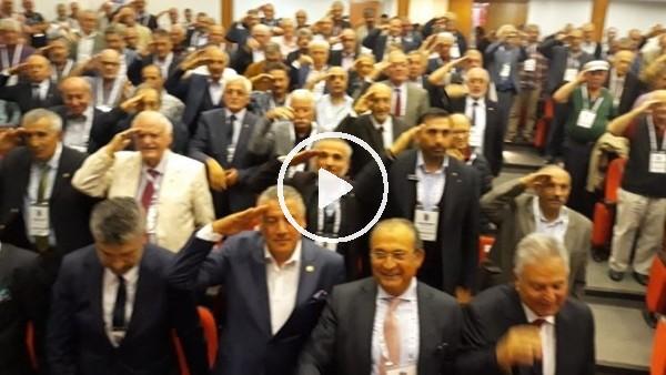 'Trabzonspor Divan Toplantısı Asker Selamı ile açıldı