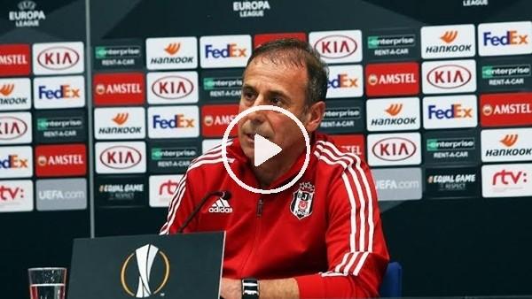Abdullah Avcı, Braga maçı öncesi basın toplantısı düzenledi
