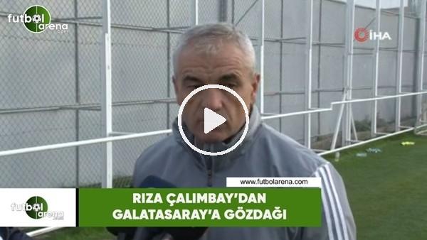 'Rıza Çalımbay'dan Galatasaray'a gözdağı