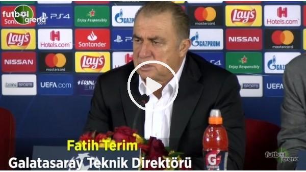 """'Fatih Terim: """"Tek sorun atamamak"""""""