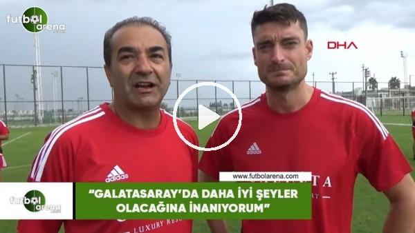 """Albert Riera: """"Galatasaray'da iyi şeyler olacağına inanıyorum"""""""