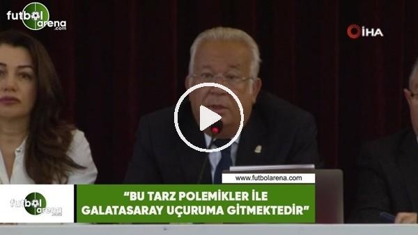 """'Eşref Hamamcıoğlu: """"Bu tarz polemikler ile kulüp uçuruma gitmektedir"""""""