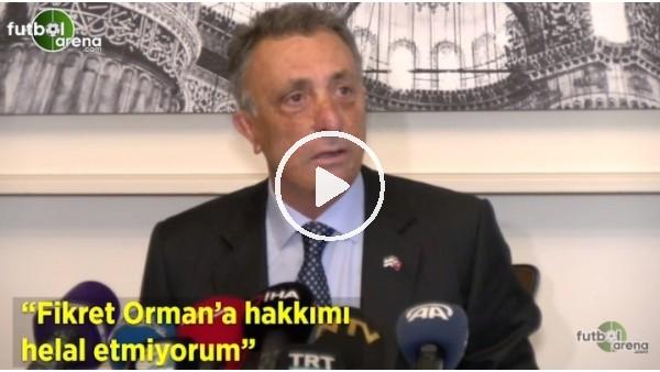 """'Ahmet Nur Çebi: """"Fikret Orman'a hakkımı helal etmiyorum"""""""