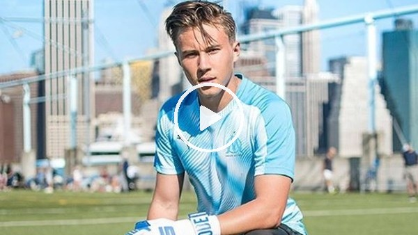 Klinsmann'ın oğlu kalecilikte hünerlerini sergledi