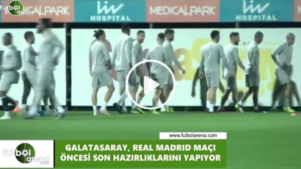 ' Gaatasaray, Real Madrid maçına hazır
