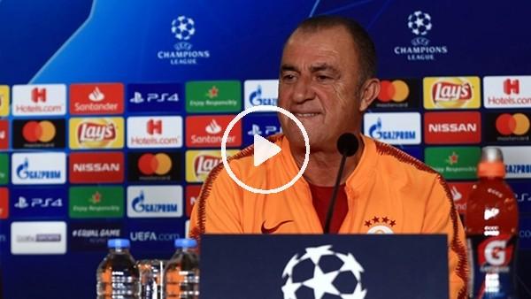 Fatih Terim ve Muslera, Real Madrid maçı öncesi basın toplantısı düzenledi
