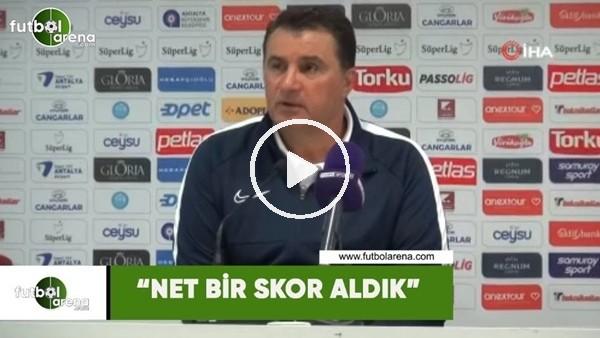 """'Mustafa Kaplan: """"Net bir skor aldık"""""""