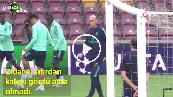 'Zidane, sıfırdan kaleyi gördü ama olmadı