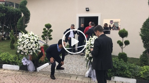 'CANLI - Beşiktaş Yusuf Tunaoğlu Futbol Yönetim Merkezi açılışı