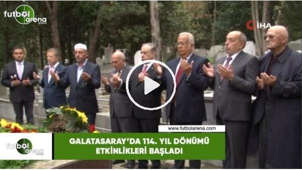 'Galatasaray'da 114. yıl dönümü etkinlikleri başladı