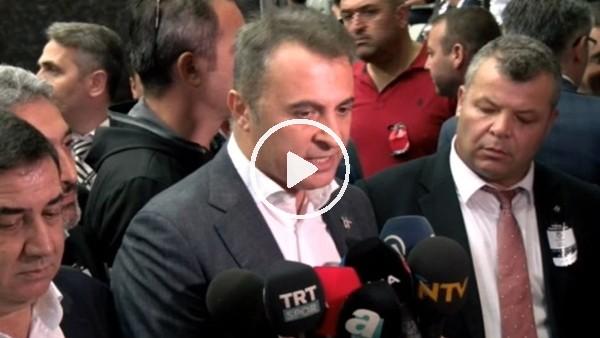 """'Fikret Orman: """"Beşiktaş'ın Beşiktaş'tan başka dostu yok"""""""